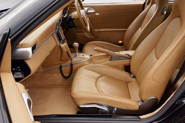 auto, kožené sedačky, koža, interiér, čistenie